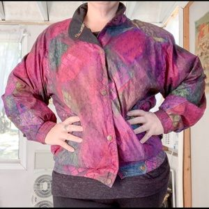 Sunice Vintage 1980s Ski Jacket Multicolor Scale